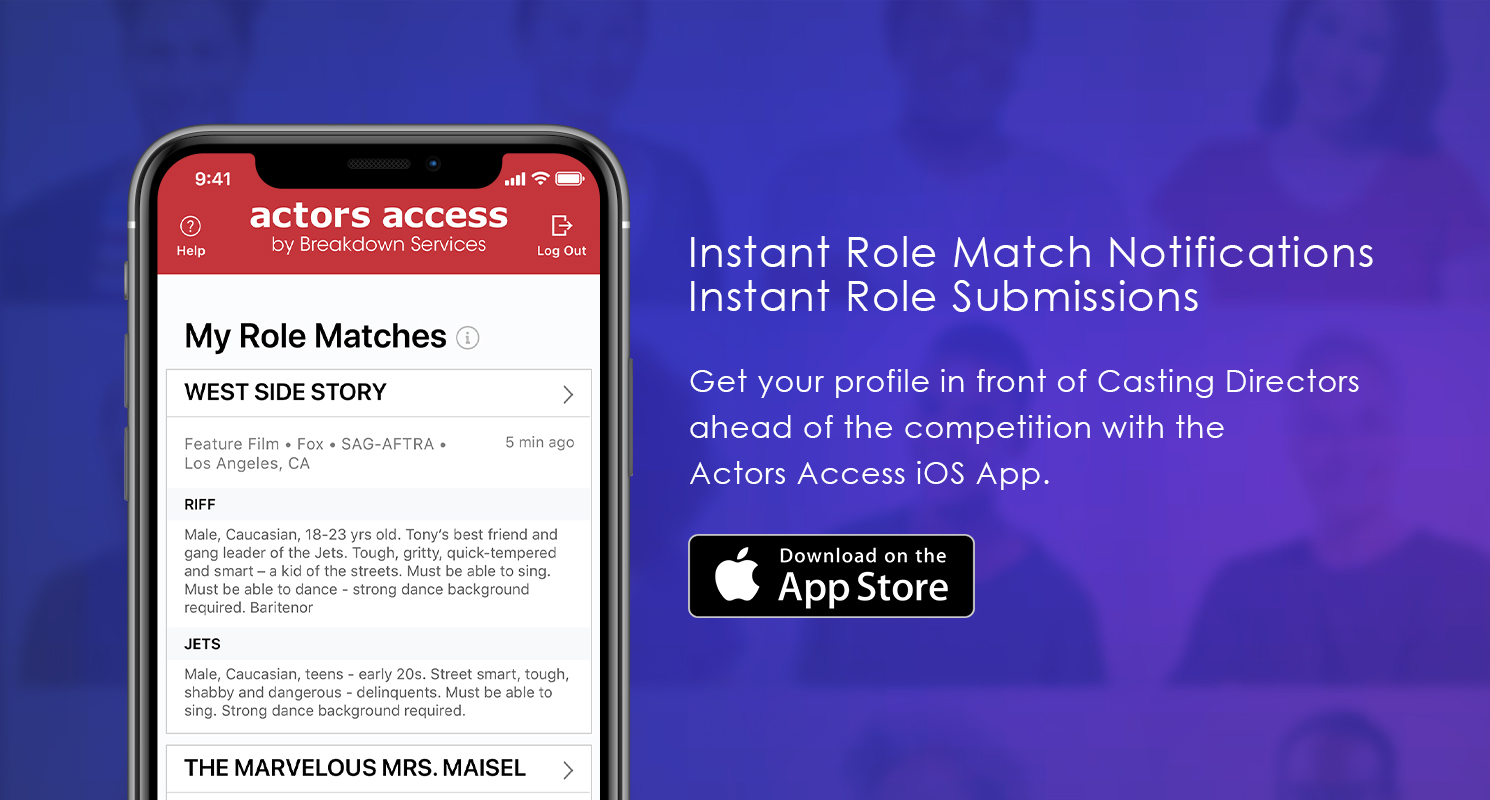 Actors Access iOS App