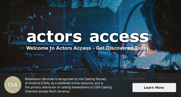 Welcome to ActorsAccess.